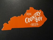 COUNTRY BOY BREWING Cougar Bait Shotgun kentuck STICKER decal craft beer brewery