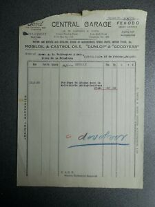 GIBRALTAR CARTA COMERCIAL AÑO 1935 FORD THE UNIVERSAL CAR AGENTS
