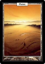 Plaine Unhinged - Plains - Textless - Magic mtg - Exc