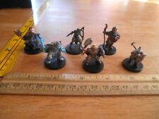 Dungeons & Dragons lot 6 plastic gaming figures 2000s Wizards B21 Steelheart Arc