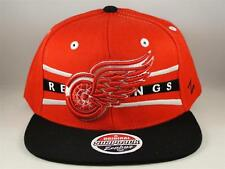 Detroit Red Wings NHL Zephyr Snapback Cap Hat Front Runner