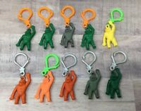 VINTAGE GUMBALL/VENDING KING KONG GORILLA APES CHARMS LOT OF 20