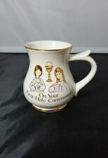 "Prinknash Abbey Pottery First Holy Communion Celebration 4"" Children's Mug"