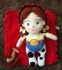 Disneyland Parks Disney Babies Toy Story JESSIE Blanket Stuffed Plush RARE