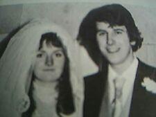 ephemera 1975 kent wedding picture h j clarke miss susan kerr suffolk