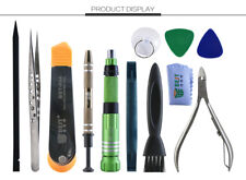 13 Piece iPhone 4, 5, 6, 7 Repair Tool Kit with Pentalobe 1.2mm .8mm Philips 1.5
