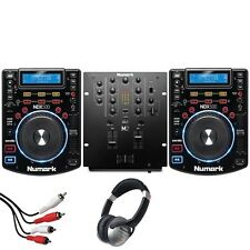 Numark NDX500 CD Media Player Deck & Numark M2 2 Channel Mixer DJ Package