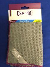 USA Pro Micro Fibra Toalla gimnasio 70 X 30 Cm Gris Púrpura B522-7