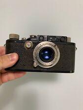Leica Leitz III Black Paint Hektor 50mm f2.5 Lens German Rangefinder Camera