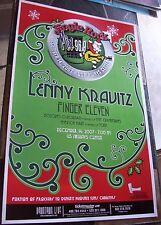 ORIGINAL LENNY KRAVITZ FINGER ELEVEN PHX AZ  LIVE   POSTER 17 X 11  jingle rock