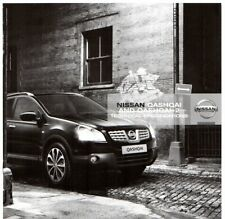 Nissan Qashqai & Qashqai +2 Specifications 2009-10 UK Market Brochure