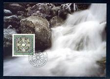 Liechtenstein 1994, 4 Maximum Cards, MK 129, Four elements, Mi. 1099 - 1102.