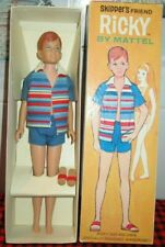 "1964~""RICKY DOLL""~#1090~JAPAN~*MINT DOLL*~Original Box+Liner-Mint Outfit+Sandals"