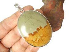 Large  Landscape  JASPER  Sterling  Silver  925  Gemstone  PENDANT