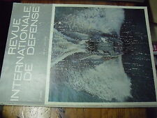 ?ù? Revue Internationale de Defense n°2 1970 Antichar ACRA Vedette pontage F1