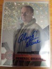 2017 Star Wars High Tek Alistair Petrie as General Draven Autograph Auto 17/75
