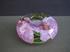EMILIO ROBBA Orchid Flower Votive Candle Holder