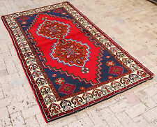 Turkish Rug 46''x86'&# 039; Vintage Old Anatolian Carpet 118x220cm