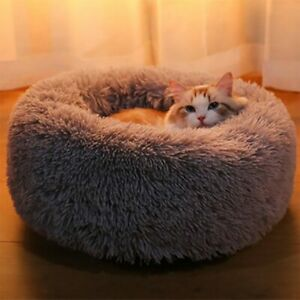 NEW Soft Round Cat Bed Sleep Plush Cushion Nest-Mat For Home Animal Pet Supplies