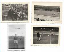 4 Photo - Concours du Jeune Footballeur - 1950 - Heysel et Sporting de Charleroi