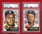 1953 Topps Baseball Cards 68