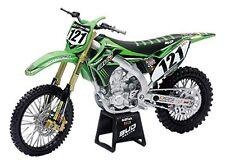 Kawasaki KX450F #121 Xavier Boog Motocross 1:12 Model 57773 NEW RAY