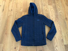 Rare The North Face TNF Hooded Thermoball Jacket Hoodie Navy Blue Mens Small EUC