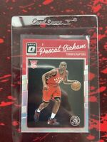 2016-17 Donruss Optic Pascal Siakam Holo Rookie RC Toronto Raptors