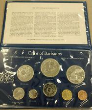 1975 Coins of Barbados Brilliant Uncirculated Specimen Set