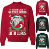 Unisex Ugly Christmas Sweater Santa Women Men Xmas Party Jumper Sweatshirt Top L