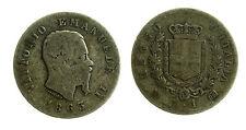 pcc1838_76) Regno Vittorio Emanuele II  1 Lira 1863 - Mi