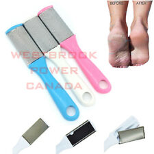 Pedicure Foot Rasp File Scrubber Hard Dead Rough Skin Remover Double Sided