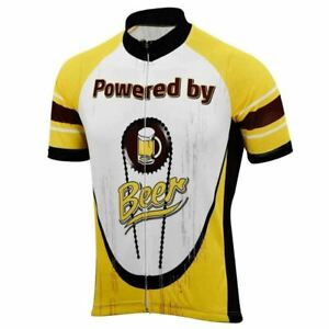 Powered by Beer Cycling Jersey
