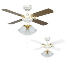 Traditional Designer Ceiling Fan Light Fitting Elegant Lounge Lighting Home Lamp