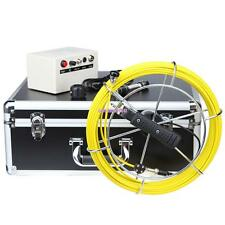 "30M 7"" HD LCD Drain Sewer Pipe Inspection Camera Video Endoscope Waterproof"