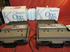 Kingdom One Touch Portable Expandable Cassette Tape Duplicator & Expansion Mod.
