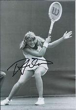 Tracey AUSTIN Signed 12x8 Autograph Photo AFTAL COA American Tennis Star