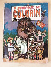 Colorin Almanaque 1925 El Gato Negro 50 cts.