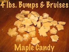 FREE SHIPPING 4 pounds lb Pure Vermont Maple Candy Bumps and Bruises