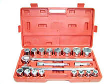 "21 PC 3/4"" DRIVE SOCKET WRENCH SET METRIC TOOL  KIT 12 POINTS SOCKETS 3/4"" DR"