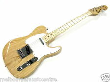 ESSEX ELECTRIC GUITAR 3 Bolt-On Maple Neck *Solid American Swamp Ash Body* NEW!