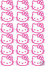 HELLO KITTY   Kit 18 stickers  Format A4  (13 coloris )