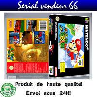 "Boitier du jeu "" SUPER MARIO 64 "", Nintendo 64, visuel PAL FR. HD"