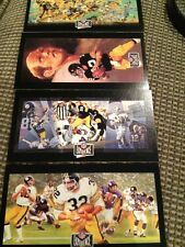 1992 NFL Experience Super Bowl Card Set Of 4 Pittsburgh Steelers