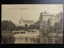 Netherlands AMSTERDAM Stadhouderskade c1919 - Old Postcard