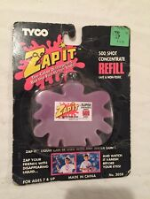 VINTAGE 1991 Tyco Toys ZAP-IT Pulsator Gun Refill Pack MOC Sealed Playtime