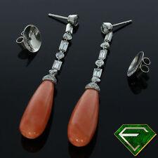 Handgefertigte Ohrschmuck mit Diamanten