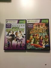 Kinect Sports & Kinect Adventures ( XBox 360)  - Great Condition