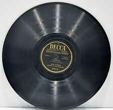 """FRED WARING   """"Holiday For Strings / Jalousie""""   78 RPM  Decca 23311"""