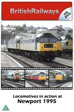 Locomotives in action at Newport 1995 | South Wales | Railway DVD